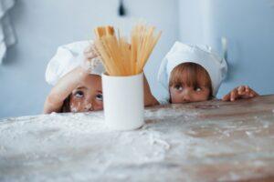 kinder-spaghetti
